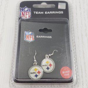 Jewelry - NFL Pittsburgh Steelers Enamel Drop Earrings New